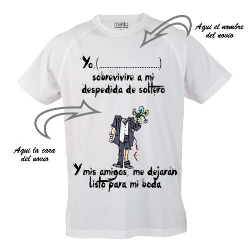 camiseta despedida de soltero original santander