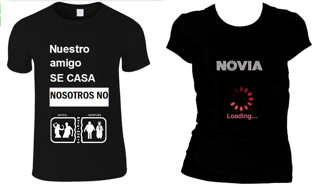 Camisetas despedida de soltero