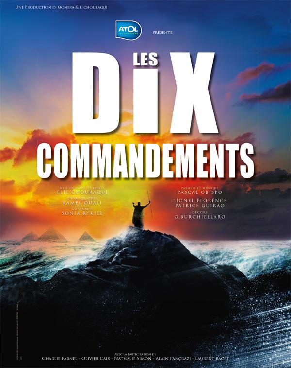 """LE RETOUR DE LA COMÉDIE MUSICALE """"LES DIX COMMANDEMENTS"""" DÈS JANVIER 2017"""