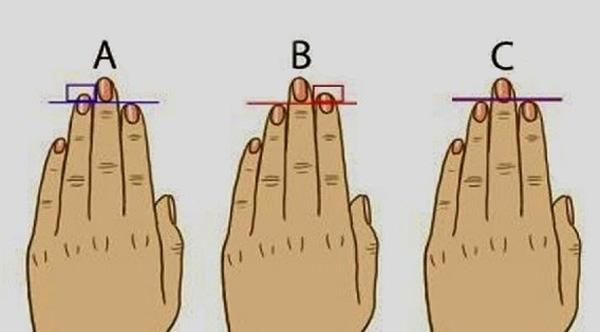 maksud jari pada tangan