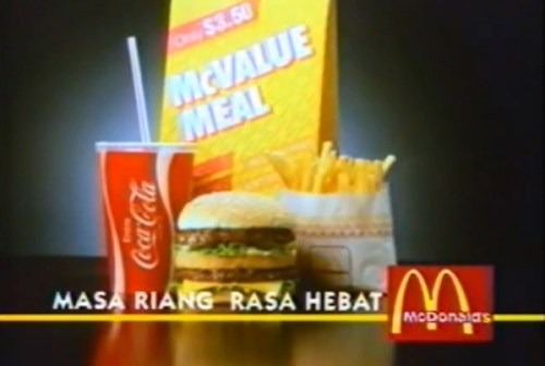McValue Set with Big Mac