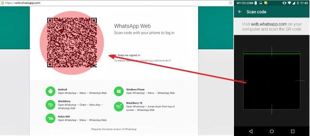Cara Whatsapp guna komputer
