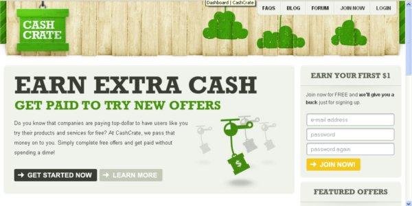 cara jana duit online dari CashCrate