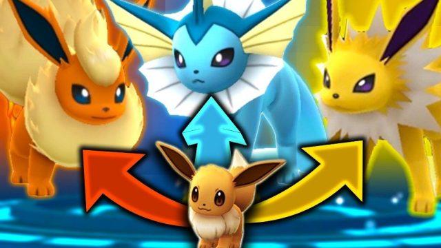 evolusi eevee pokemon GO