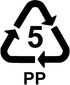 plastik kod no 5 pp