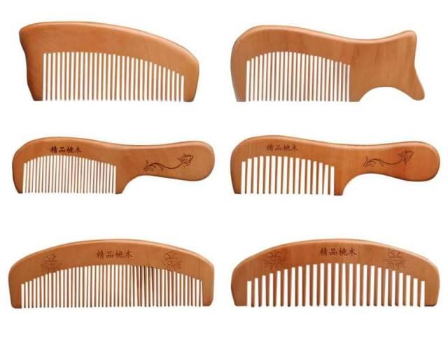 set sisir kayu homemade