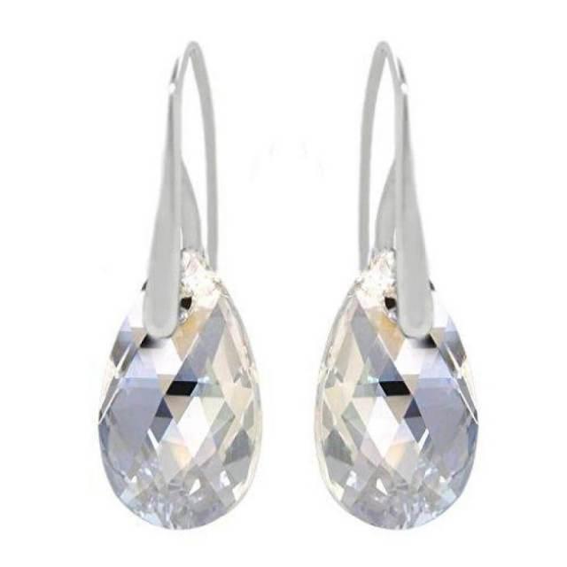silver moonlight earring