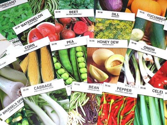 benih sayuran untuk ibu suka berkebun