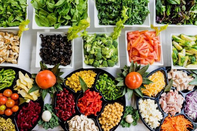 lebih makan sayur dan buah