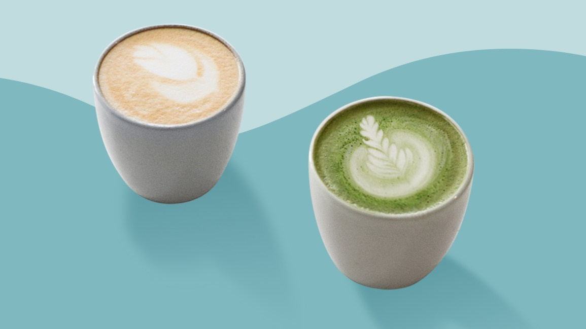 comment le matcha et le cafe avantages