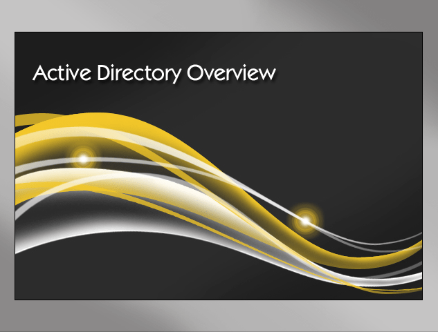 Active Directory Overview | InfoSec.co.il