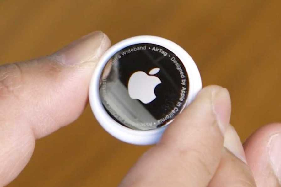 Users can lured malicious site through vulnerability Apple AirTag