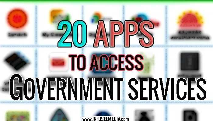 Government Apps: Access govt. services from your smartphone.