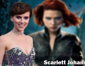 Scarlett Johansson height weight age