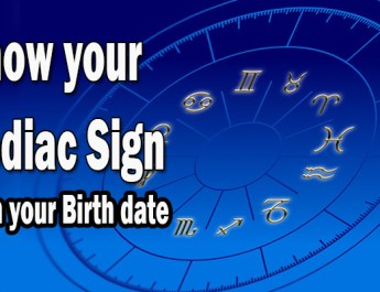Zodiac sign table