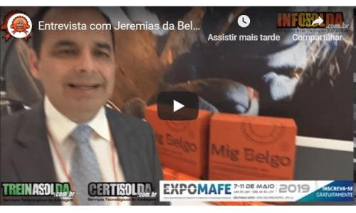 Entrevista com Jeremias da Belgo – Expomafe 2019