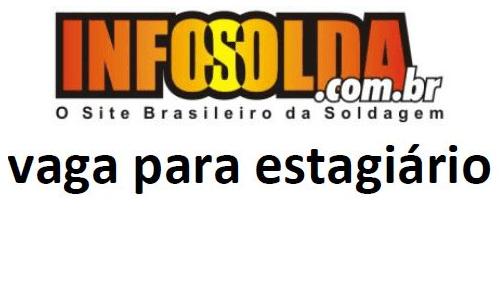 Vaga para estagiário Infosolda