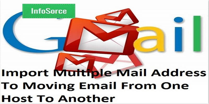 How to import multiple gmail account