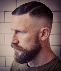 High and tight cut with part