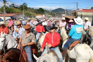 festivities at Palmares, Alajuela