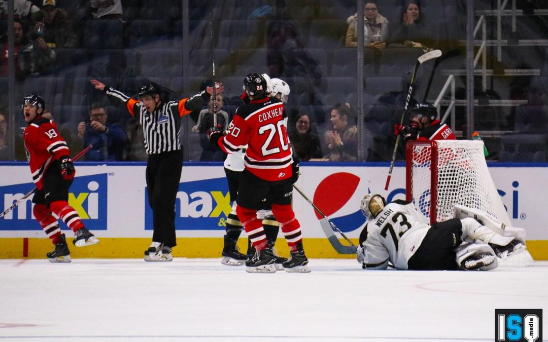 Les Remparts de Québec s'inclinent 3-2 en fusillade devant 7666 spectateurs au Centre Vidéotron