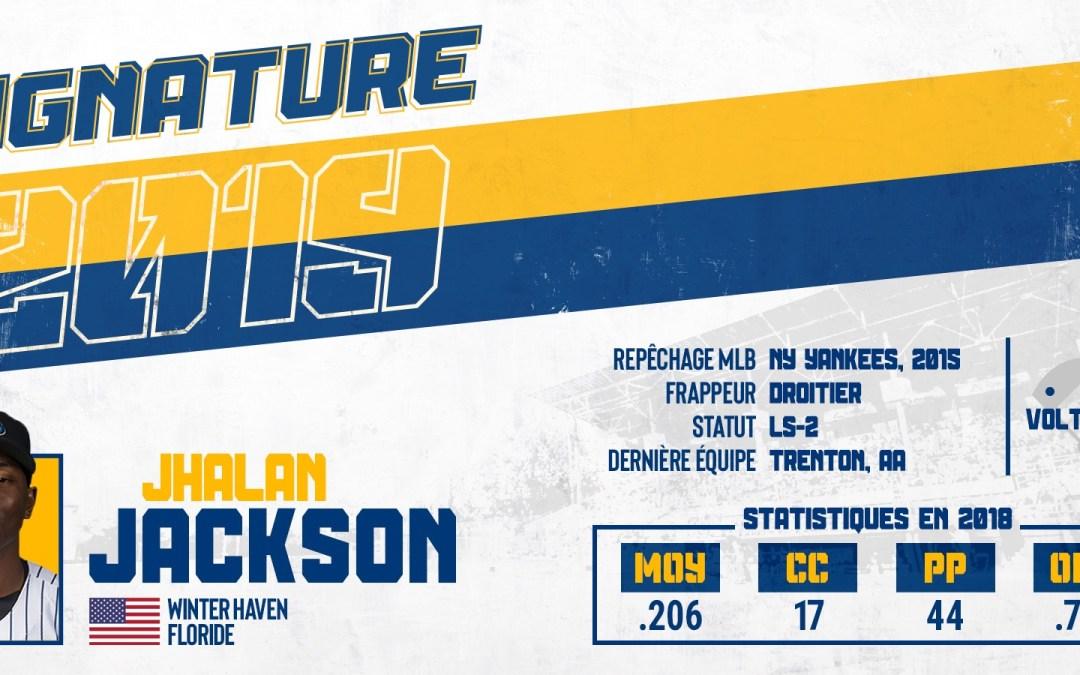 Grosse prise pour l'équipe : Jhalan Jackson débarque en ville !