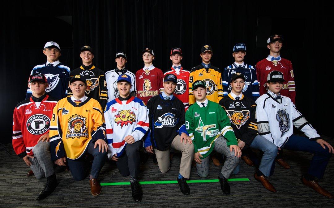 Les joueurs de la région de Québec se démarquent au repêchage de la LHJMQ