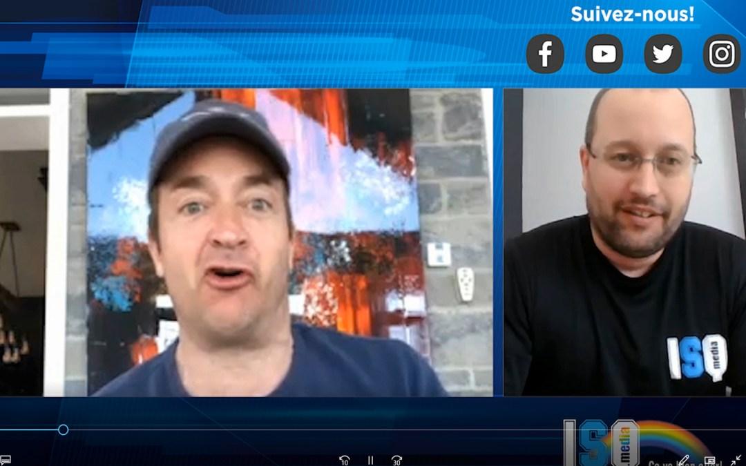 Entrevue en vidéoconférence avec l'humoriste Mario Tessier!