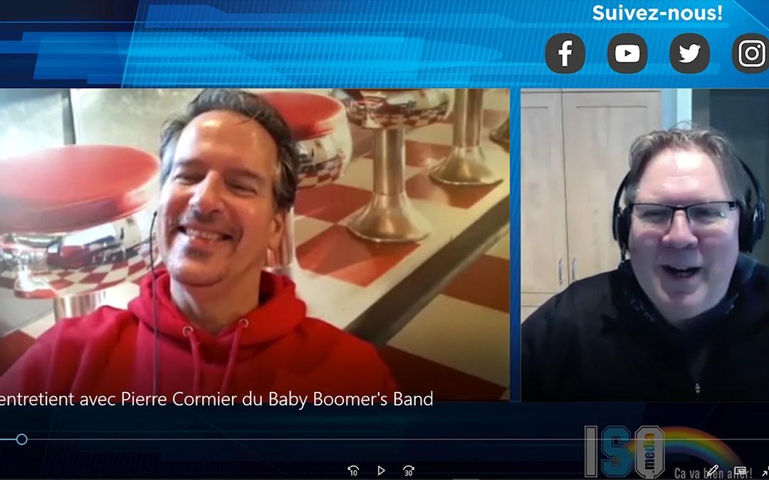 ISQ s'entretient avec Pierre Cormier du Baby Boomer's Band