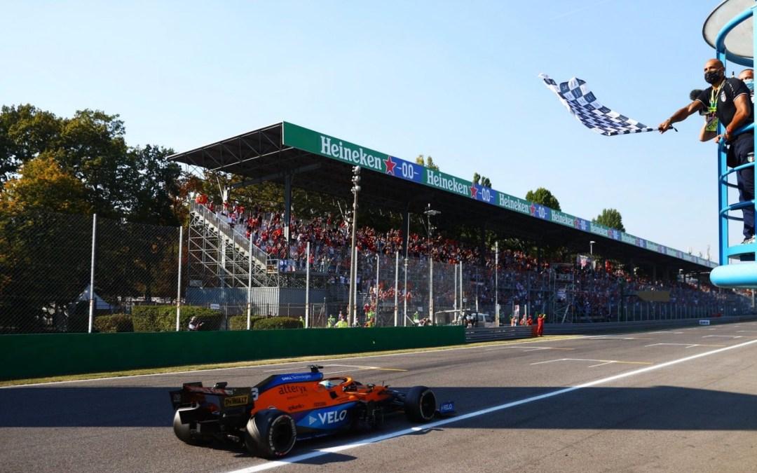 Grand Prix d'Italie – Doublé orangé et double sortie