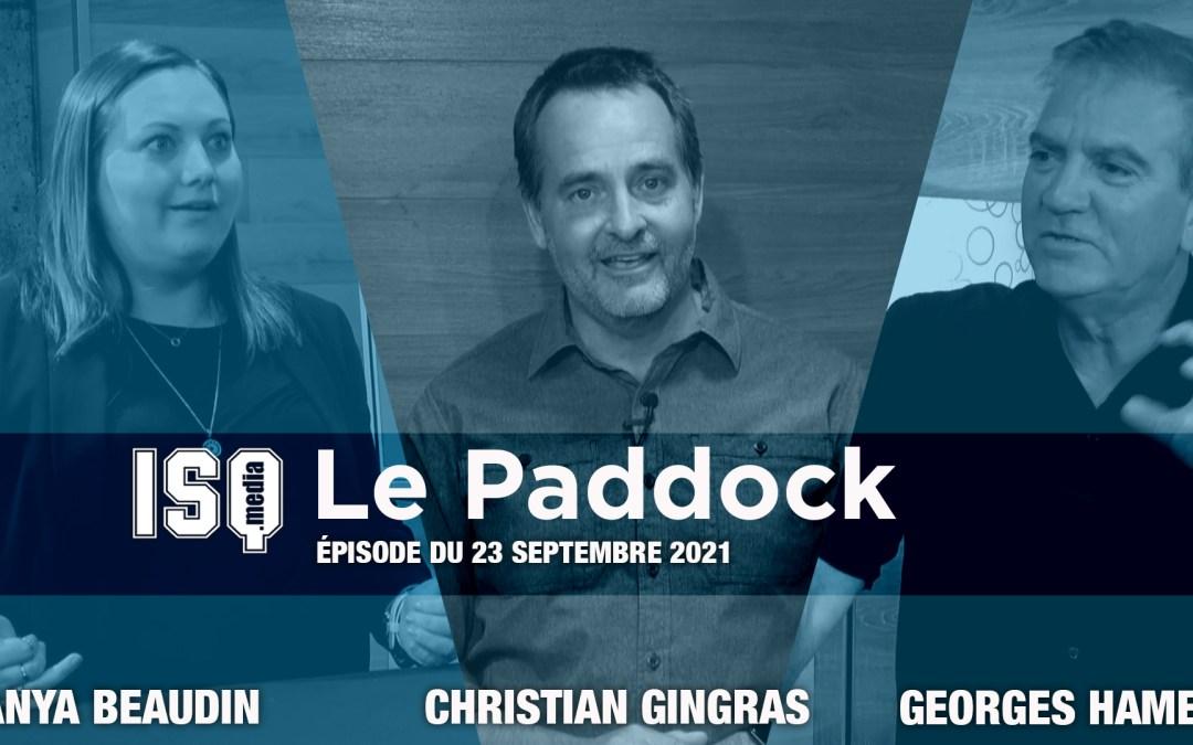 Le Paddock / Édition du 23 septembre 2021