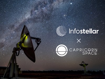 Capricorn Space and Infostellar cooperate to enable On Demand ground segment services