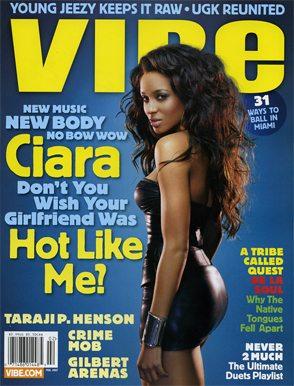 Ciara Vibe Magazine