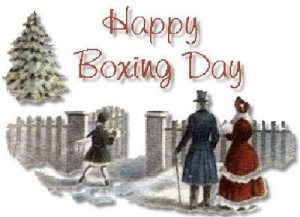 What Is Boxing Day 1