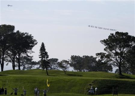 Torrey Pines Shout Out To Tiger 1