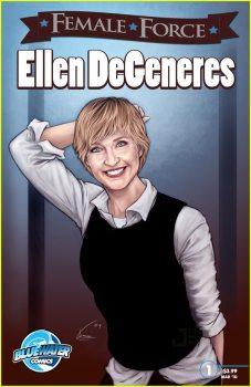 Ellen Degeneres Comic Book