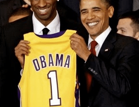 Photo of Obama Predicts Lakers To Win