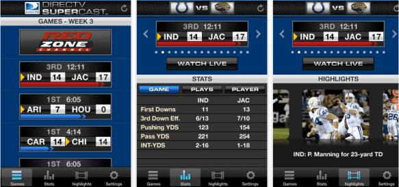 DirecTV To Live Stream NFL 1