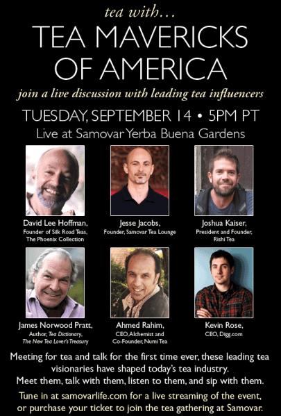 Kevin Rose and the Tea Mavericks of America 1