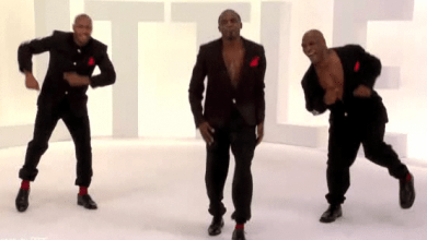 Photo of Mike Tyson Dancing…I Think