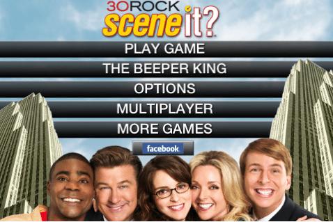 Scene It? 30 Rock Trivia iApps Released 2