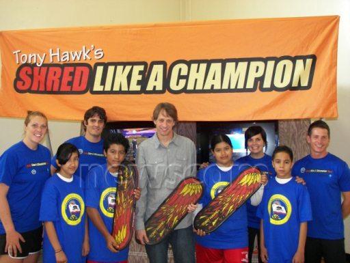 "Tony Hawk Celebrates ""Live Like a Champion Tour"" 1"
