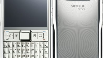 Photo of A Luxury White 18 K Gold Cell Phone By Nokia E71