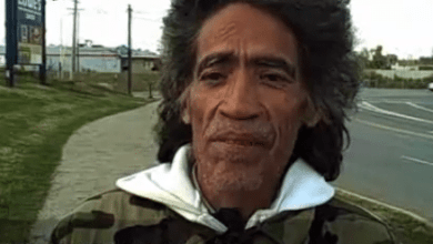 Photo of Homeless Man With The Golden Voice
