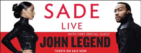 John Legend on Tour With Sade 1