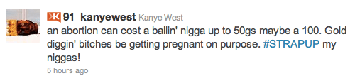 Kanye's Tweet May Get Him In Trouble 1