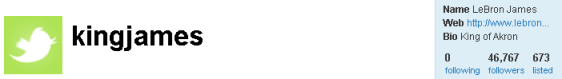 King Lebron James Joins Twitter 1