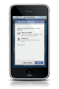 Loopt Incorporates Facebook Places 4