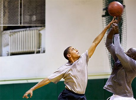 President Obama: Basketball Coach 'In Chief' 1