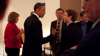Photo of Obama and Tech Giants [photo]